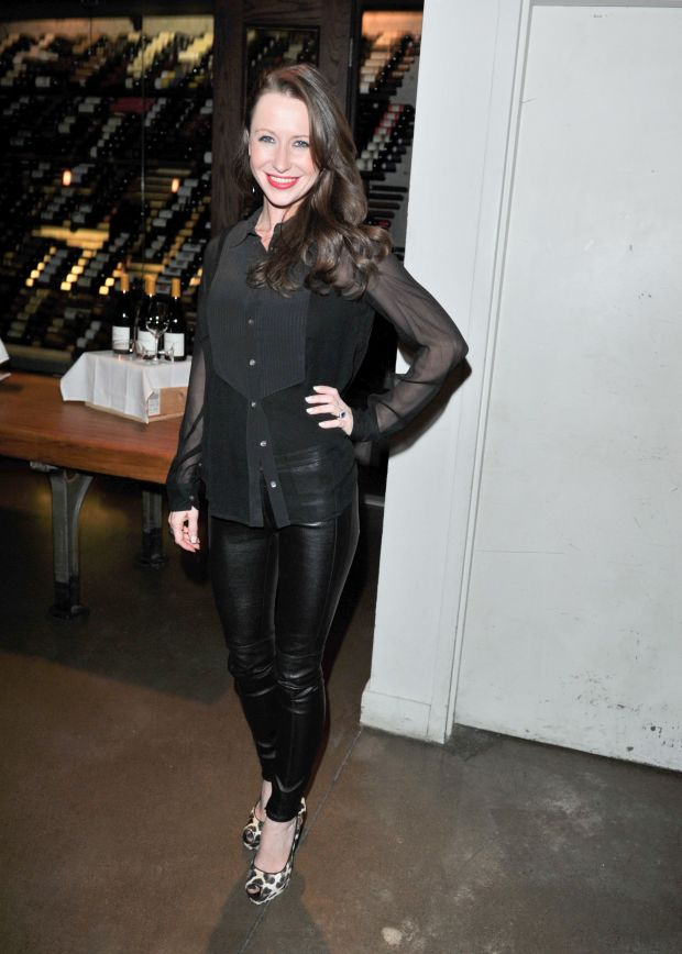"""At the Goodbye Toronto/Hello Broadway """"Private Lives"""" Supper hosted by Pearl Morissette Estate Winery at Buca in Toronto."""