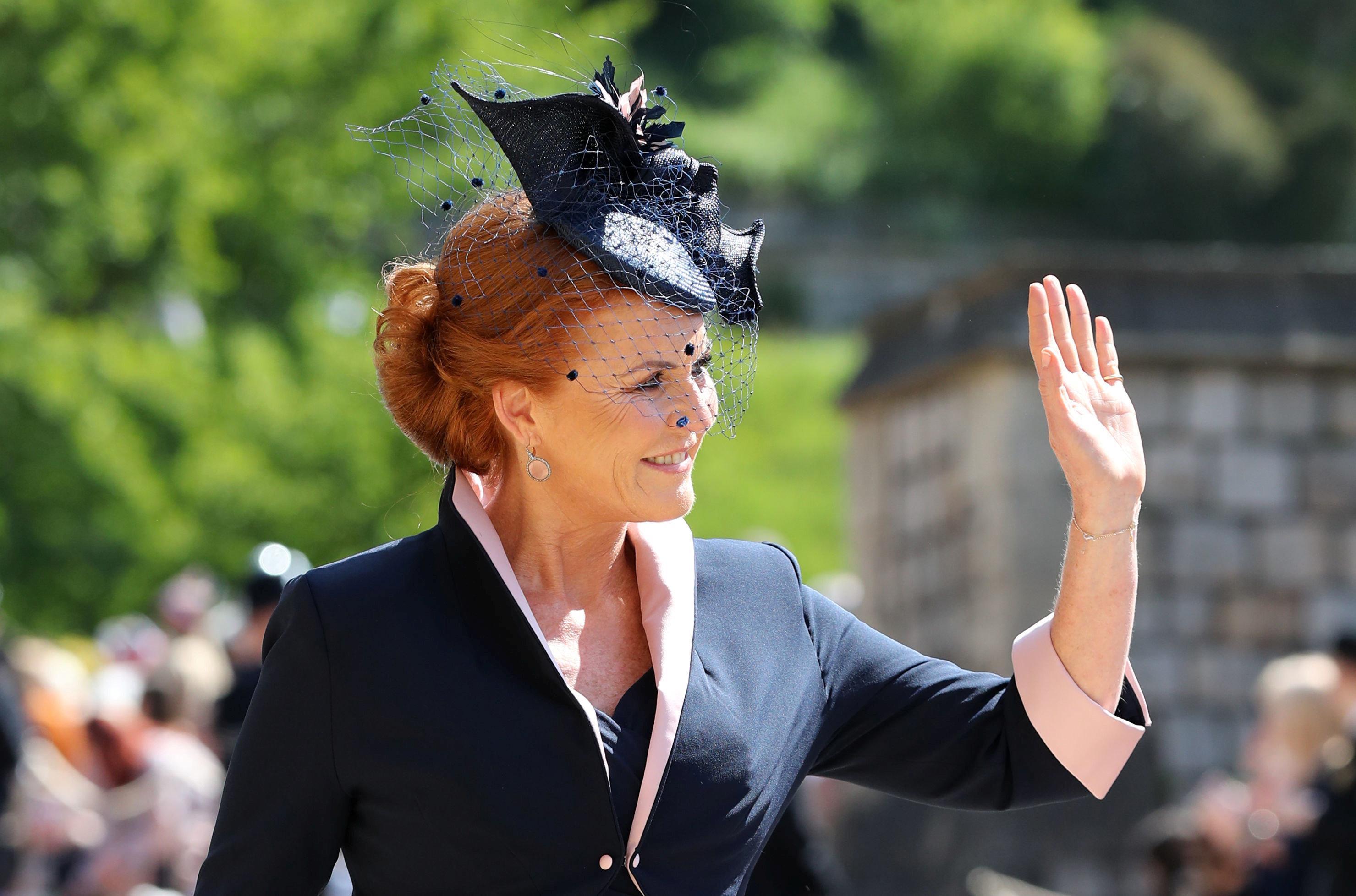 The Duchess of York.