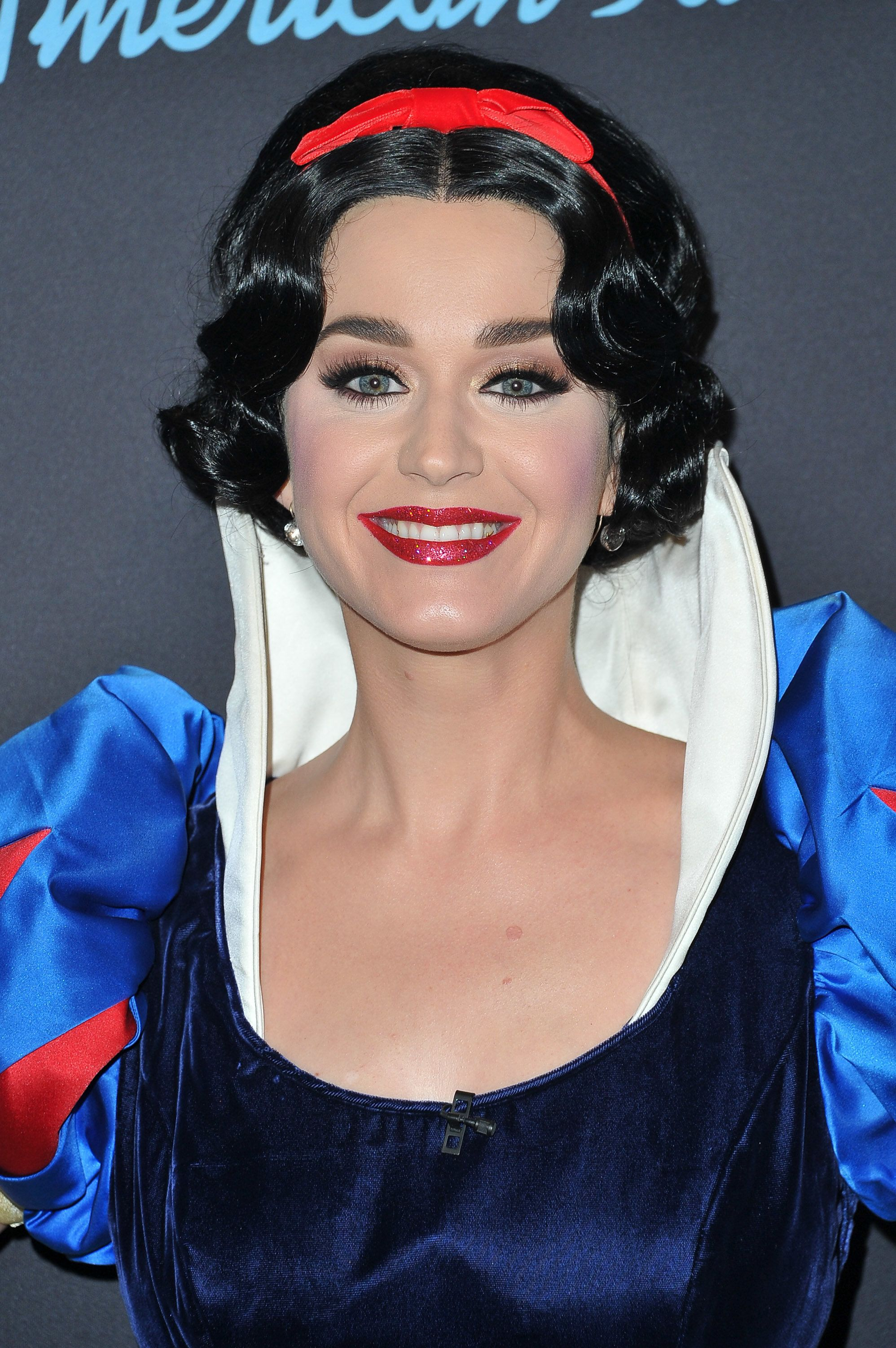 """Perry in her Snow White garb for the Disney-themed week on """"Idol."""""""