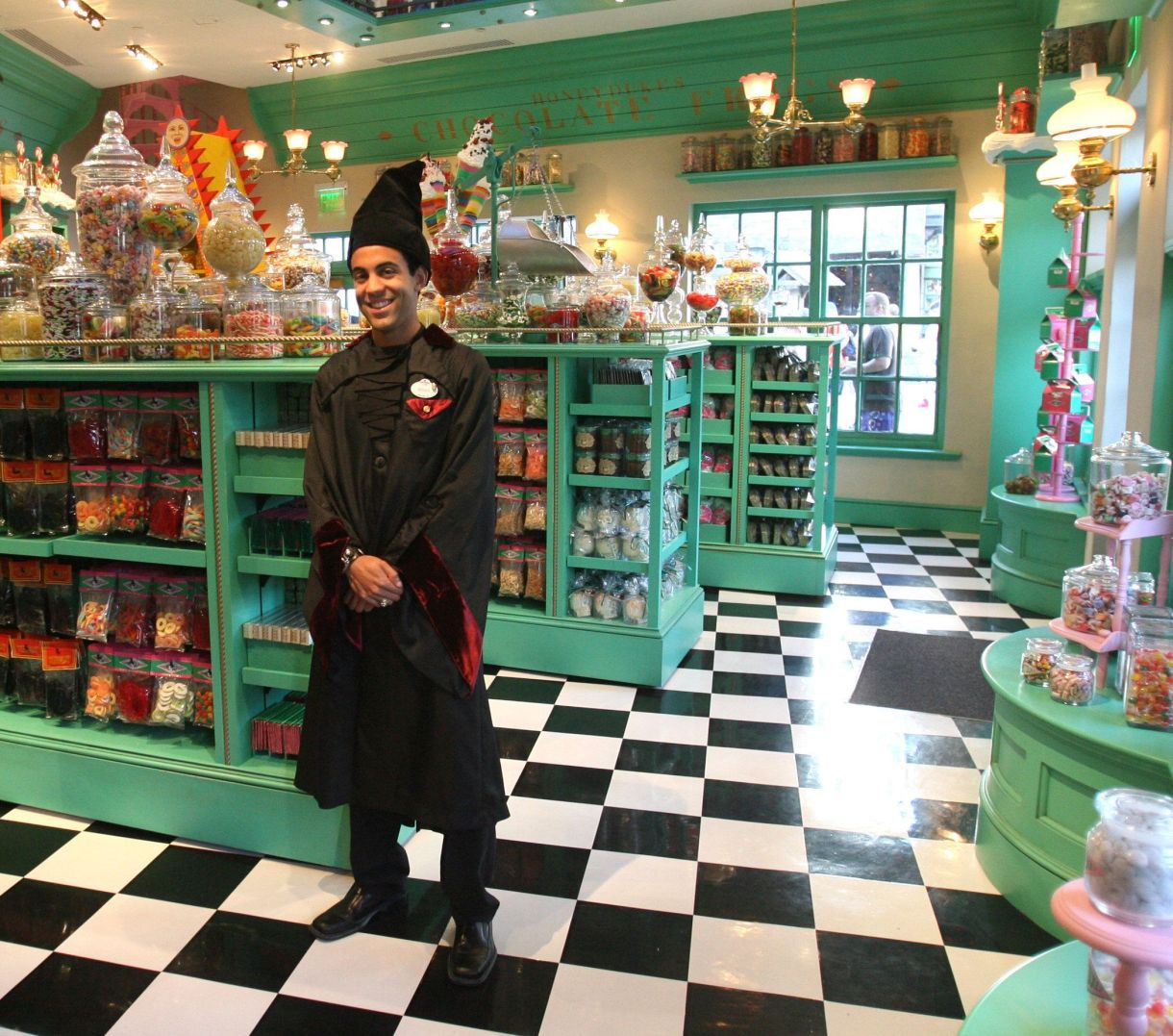Satisfy your sweet tooth at Honeydukes in Hogsmeade.