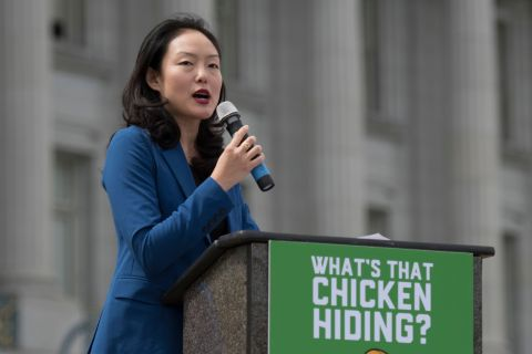 San Francisco Supervisor Jane Kim has proposed taxing robots and using thefunds to help stem