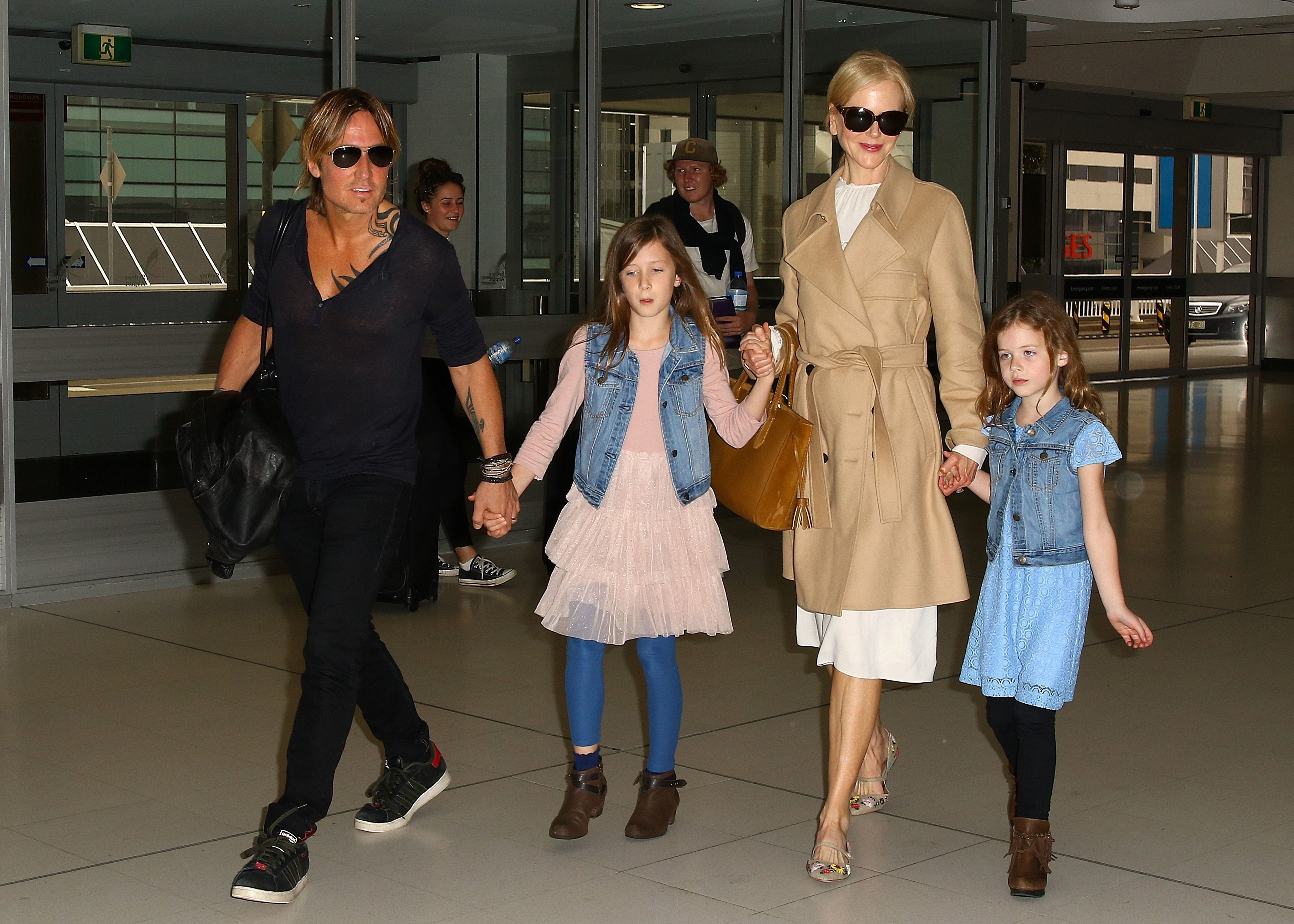 Kidman has since had two daughters with second husband Keith Urban.
