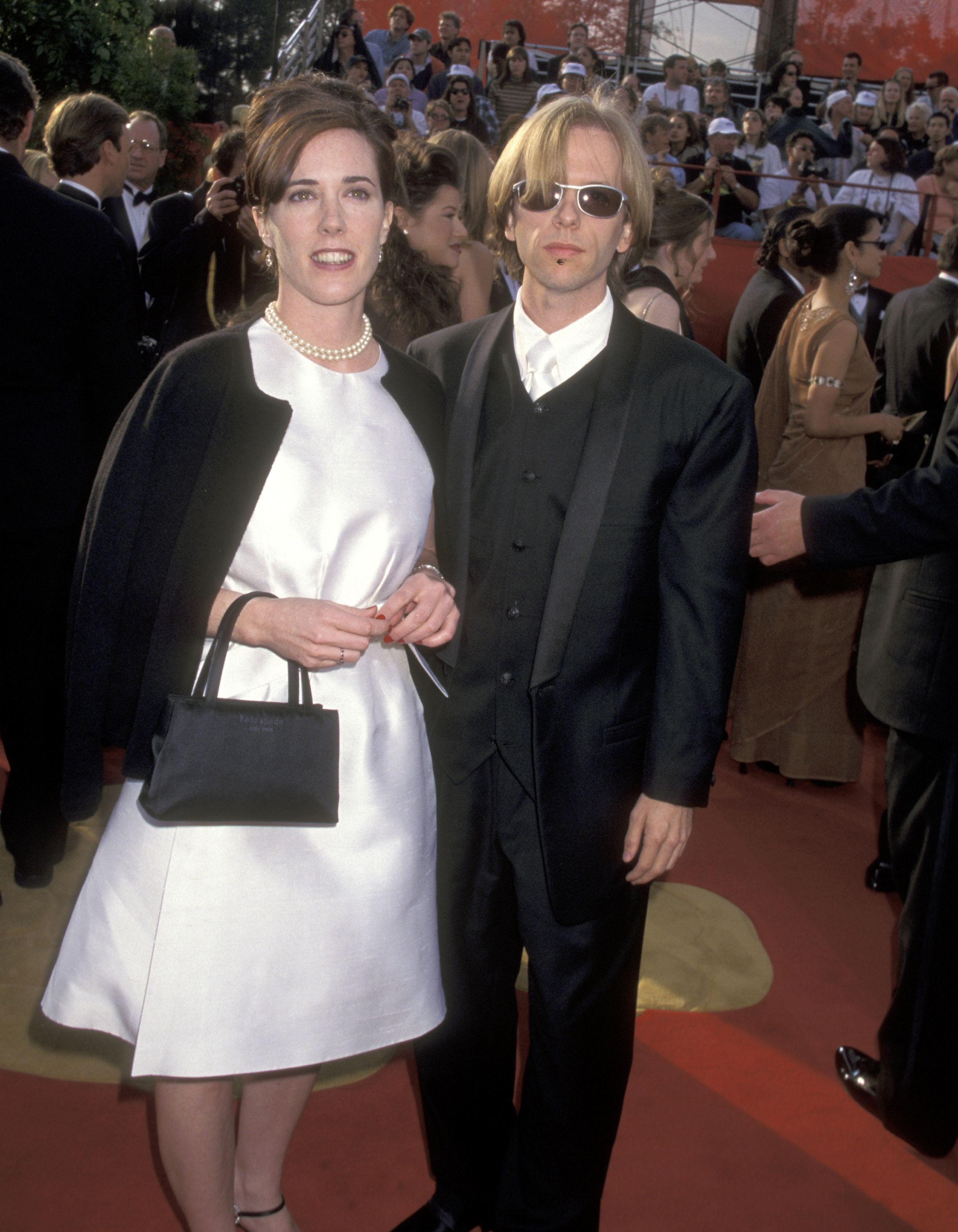 Spade, pictured here with David Spade, at the 69th annual Academy Awards.
