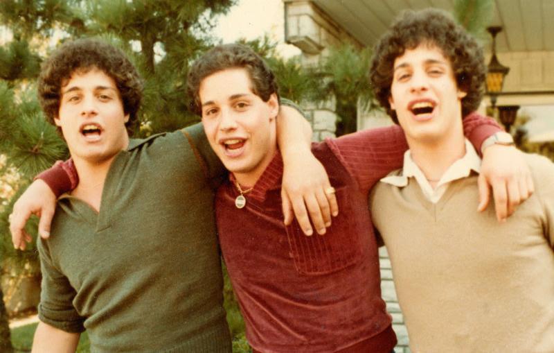 Eddy Galland,David Kellman andRobert Shafran, not long after they first met.