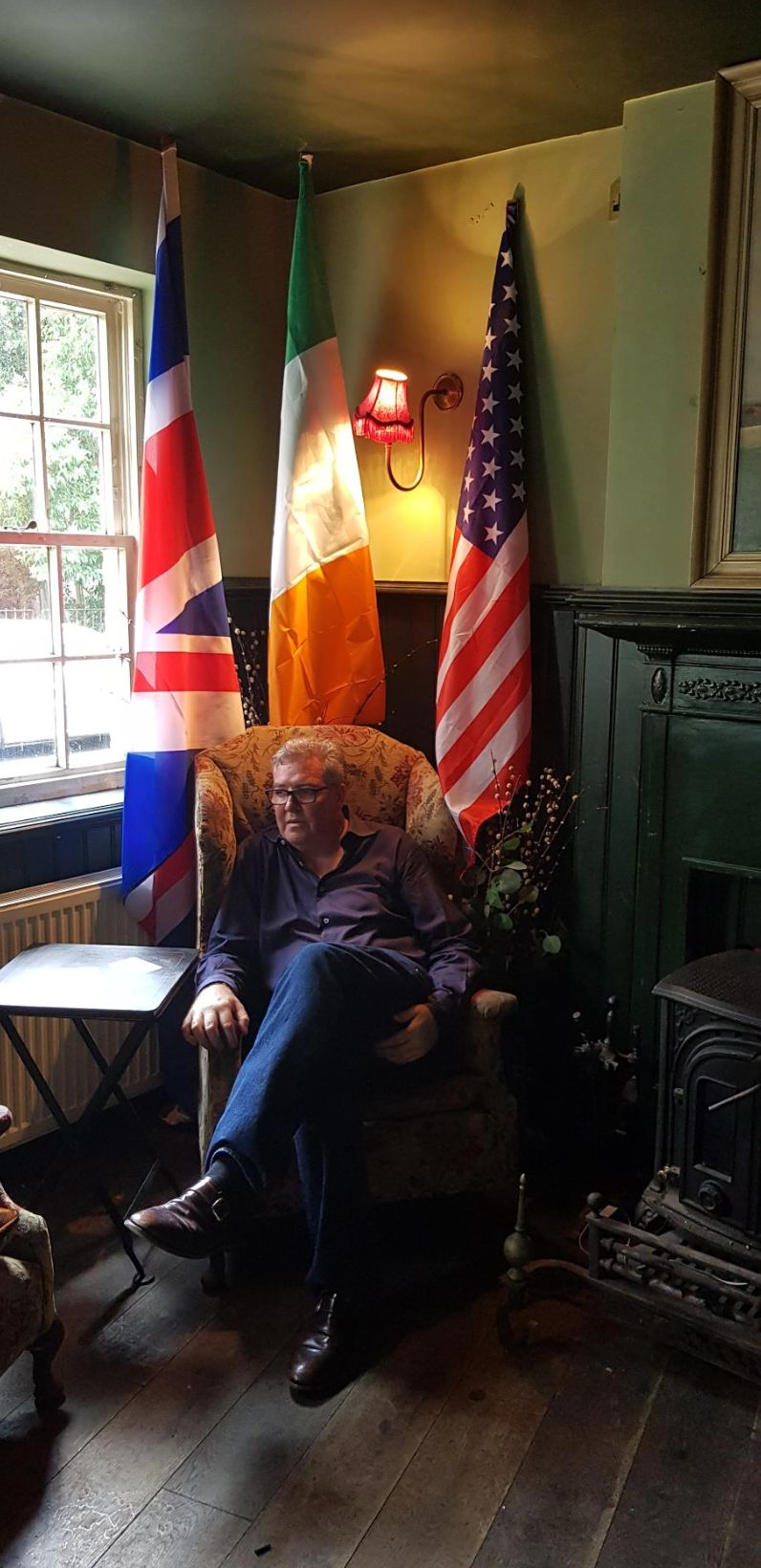 Pub landlord Damien Smyth respects Donald Trump for 'trying to better the world'
