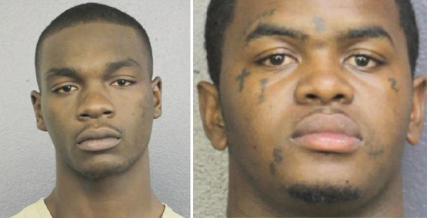 From left: Michael Boatwright, 22, and Dedrick Devonshay Williams, 22, are facing first-degree murder charges in death of Jah
