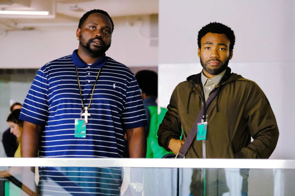 """Brian Tyree Henry and Donald Glover in """"Atlanta."""""""