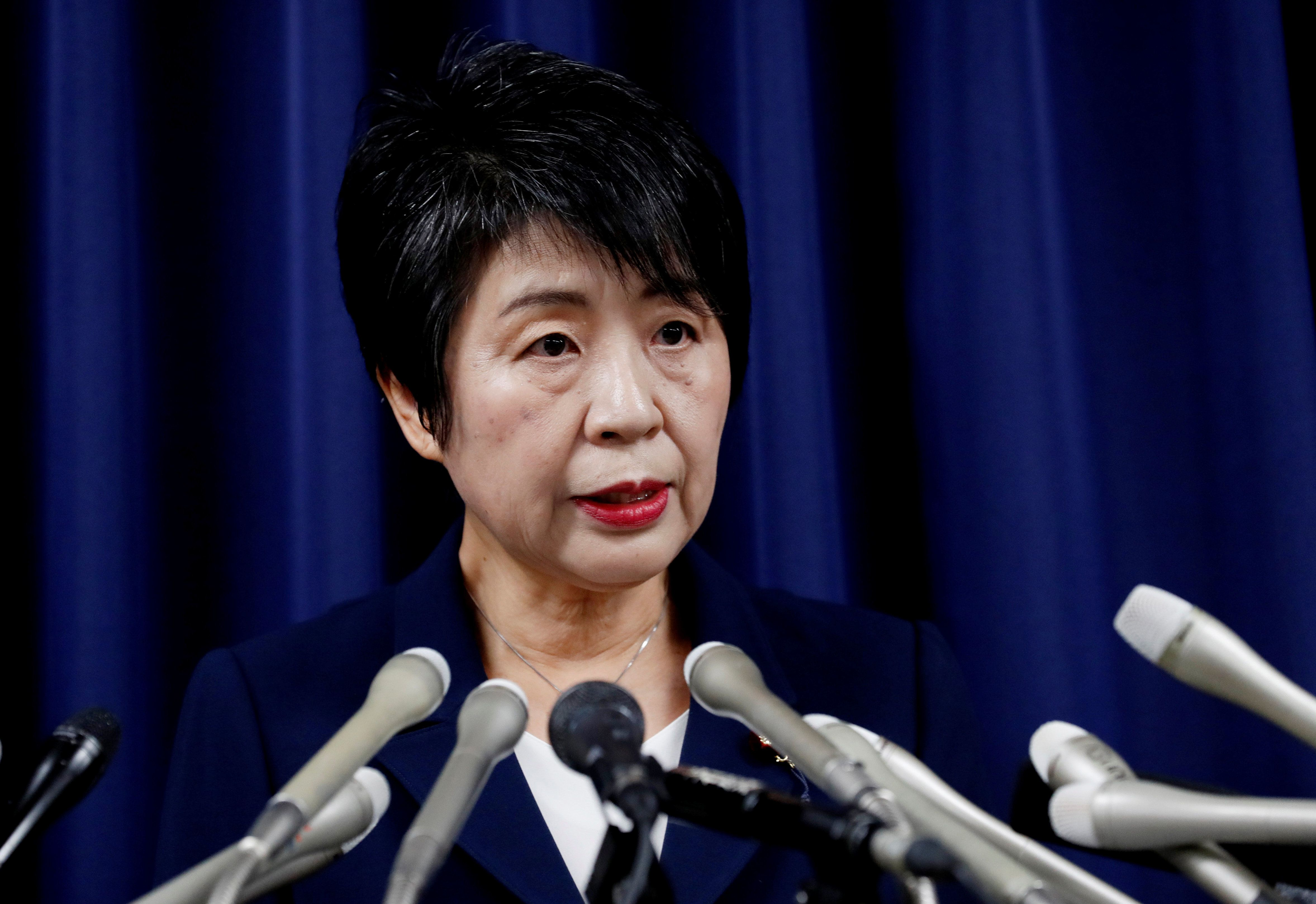 Justice Minister Yoko Kamikawa called their crimes unprecedentedly heinous and said they should never be repeated.