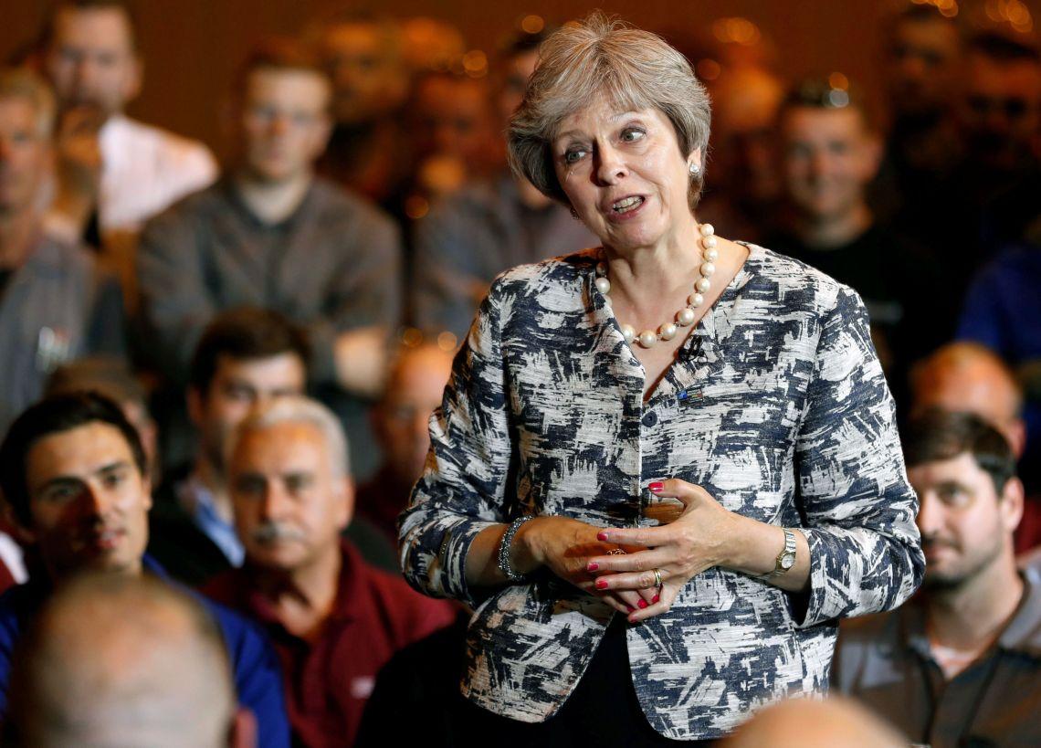 Theresa May has struggled to get her Brexit plan through Parliament.