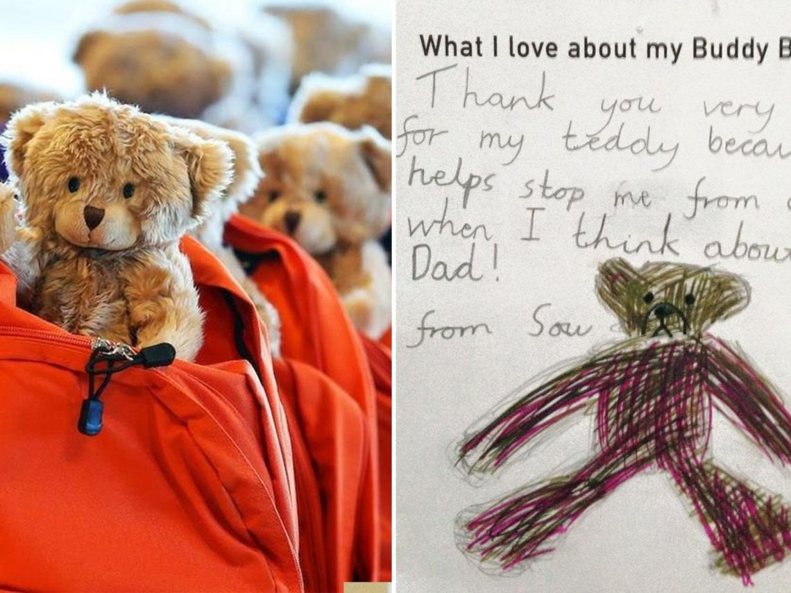 Backpacks Filled With Teddies And Books Are Providing Comfort To Kids Fleeing Violence