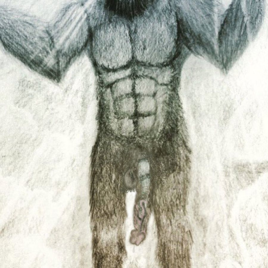 One more time, Bigfoot's penis! Bigger, longer and uncut.