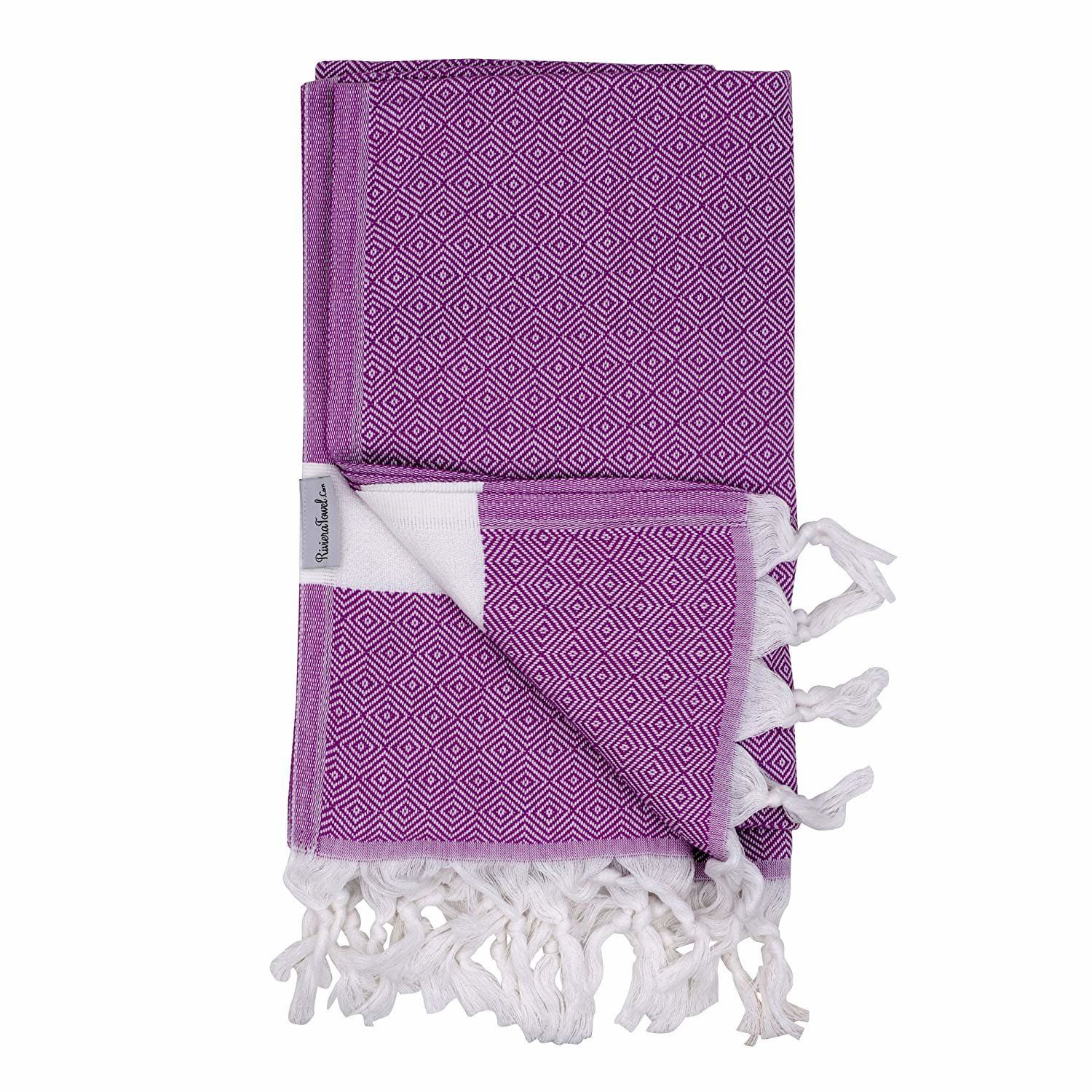 """<strong>Rating</strong>: 4.6 stars<br><strong>Reviews</strong>: 64<br><a href=""""https://www.amazon.com/Riviera-Towel-Cotton-Di"""