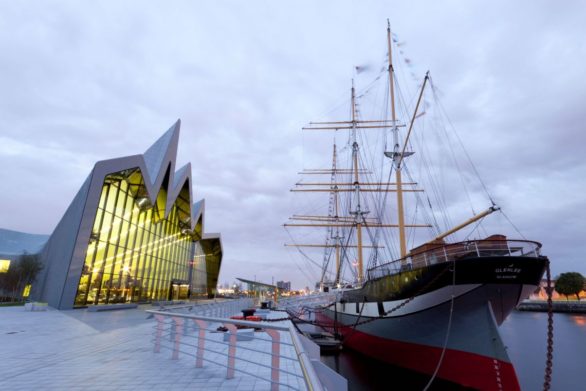 The Riverside Museum.