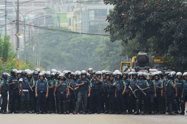 At least 12,000 people die each year in road accidents in Bangladesh. The student protests have snarled traffic throughout Dh
