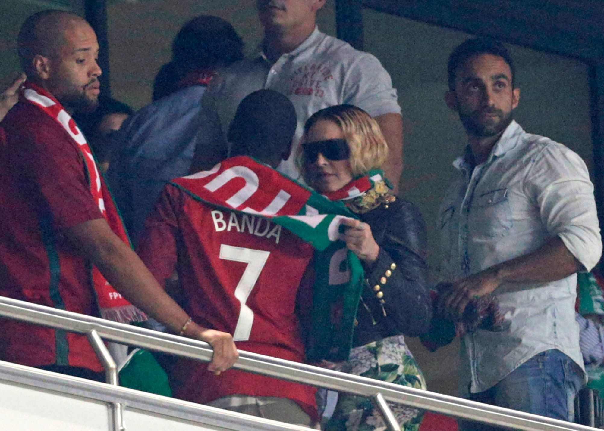 "In August 2018,&nbsp;Madonna&nbsp;reveals <a href=""https://www.huffingtonpost.com/entry/madonna-donald-trump-portugal_us_5b62"