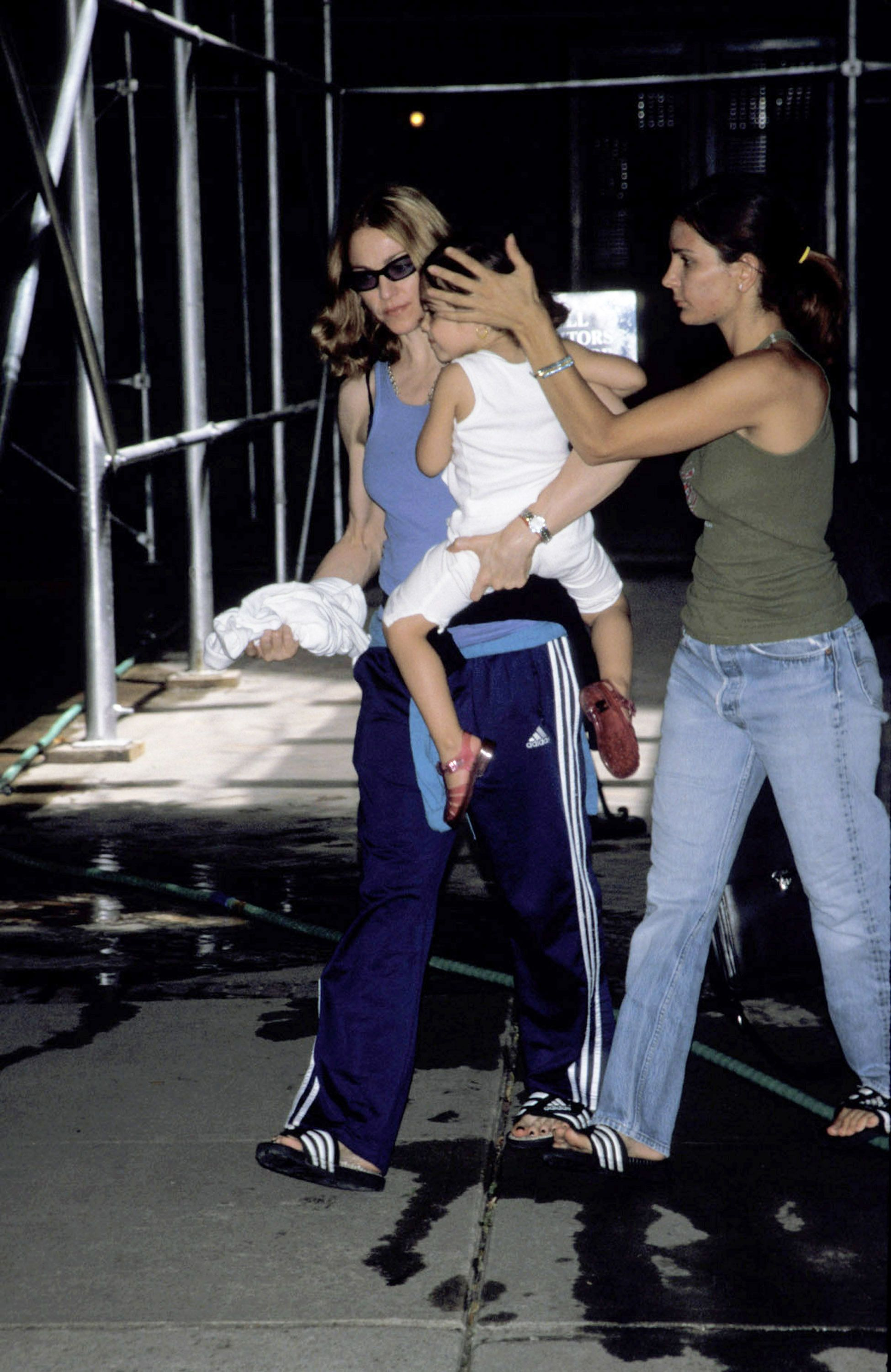 """Madonna&nbsp;gave birth to her first child, <a href=""""https://www.eonline.com/news/886958/madonna-s-baby-girl-is-21-inside-lou"""