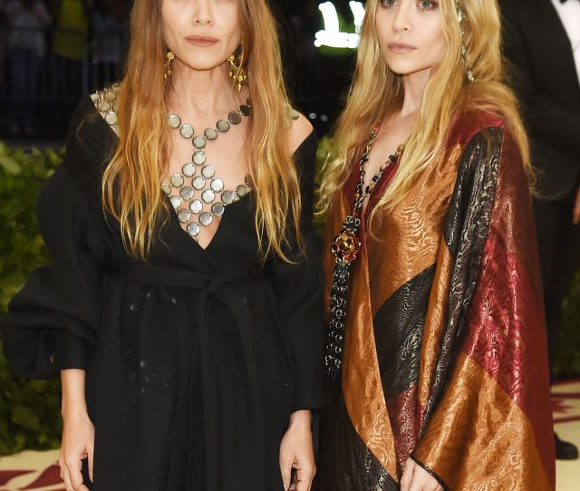 Mary Kate And Ashley Olsen Attend The 2018 Met Gala