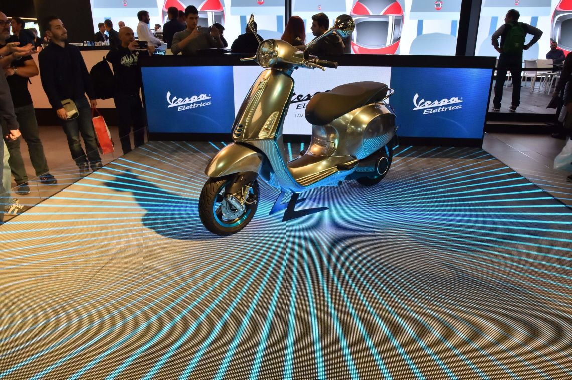 Vespa's Iconic Scooter Is Going Electric