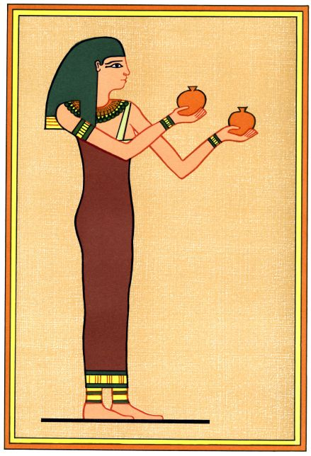 According to Egyptian mythology, Menqet was the goddess of beer, and she ruled over the Place of Reeds.