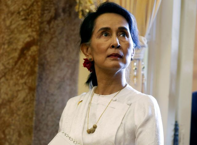 Myanmar's State Counsellor Aung San Suu Kyi refused to support the two Reuters journalists who, earlier this month, were foun