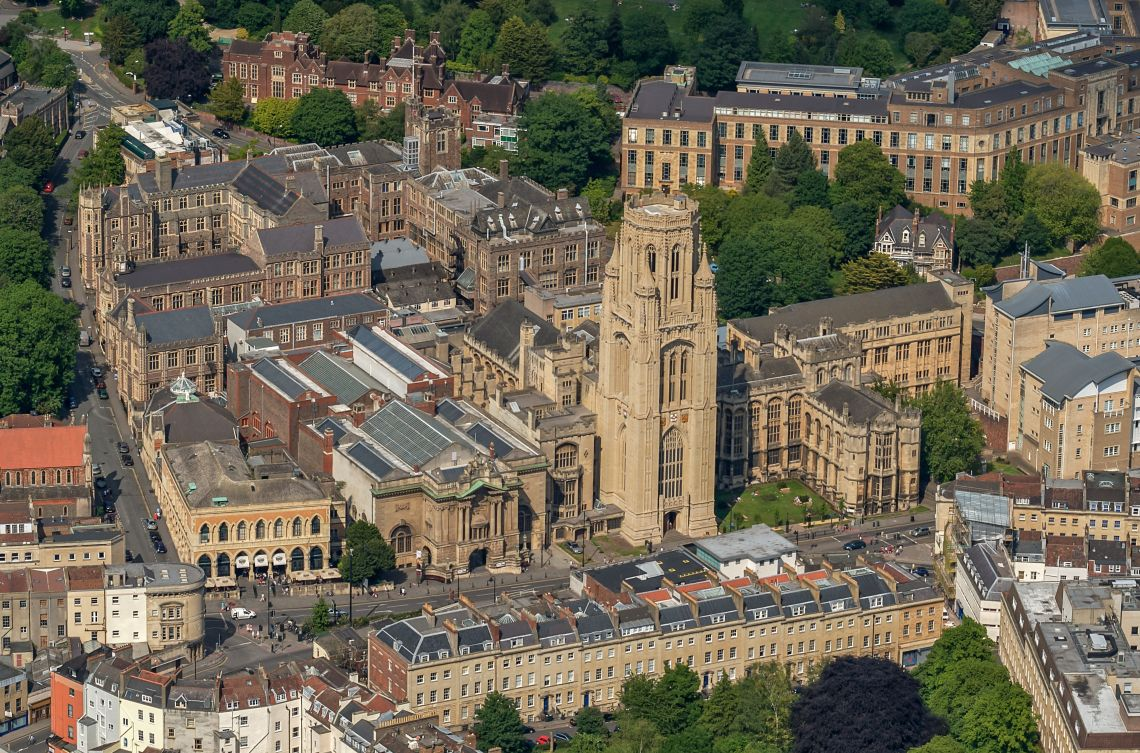 The University of Bristol where 11 students have taken their own lives since 2016