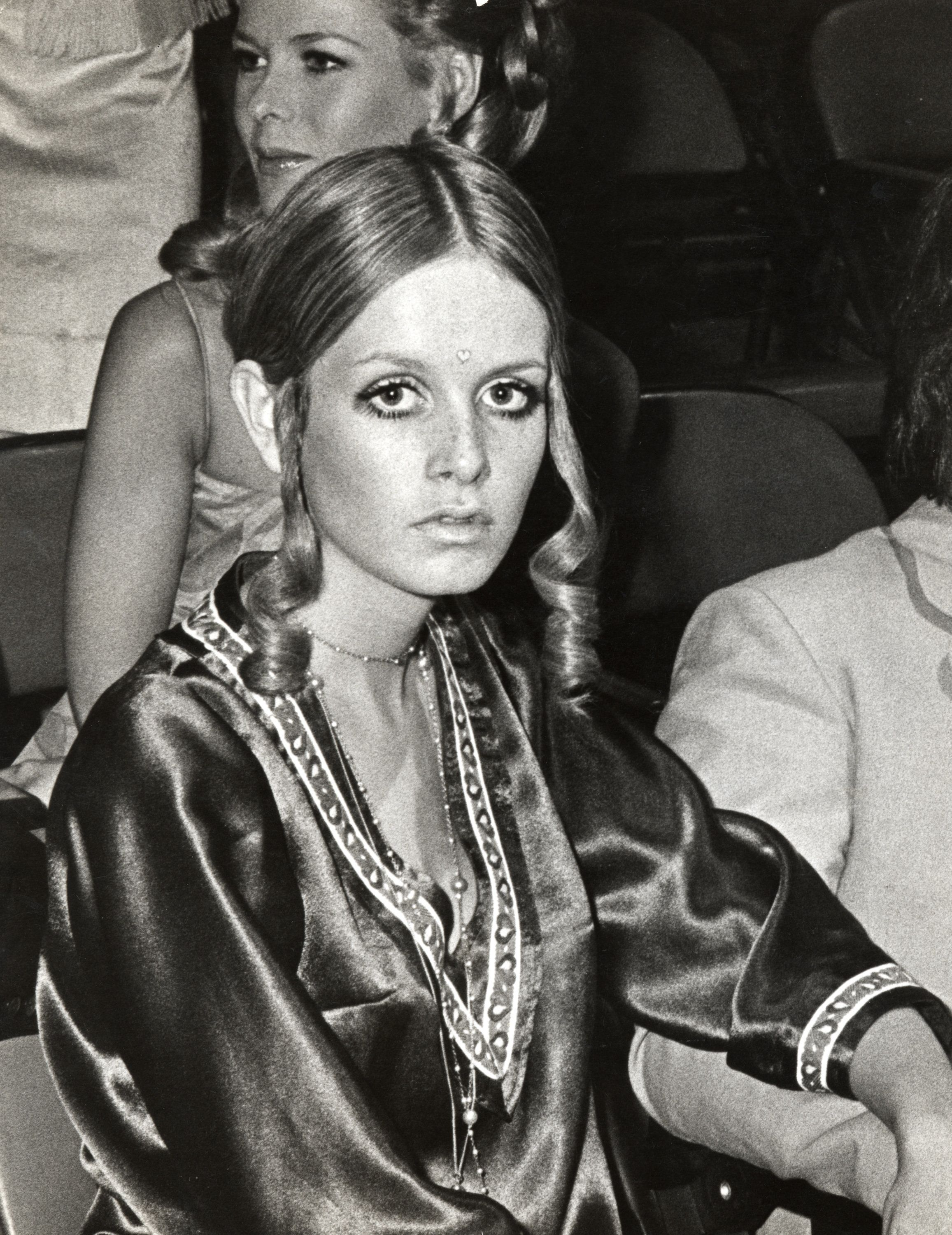 """Twiggy attends the CBS """"Model of the Year"""" Pageant at CBS Studios in New York City."""