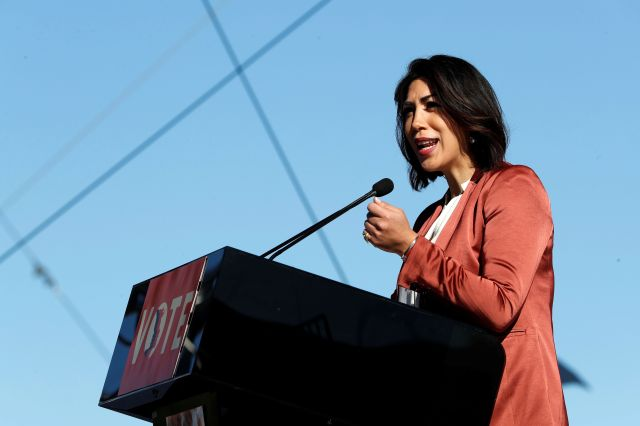 Paulette Jordan, the Democratic gubernatorial nominee in Idaho, hopes to become the nation's first Native American