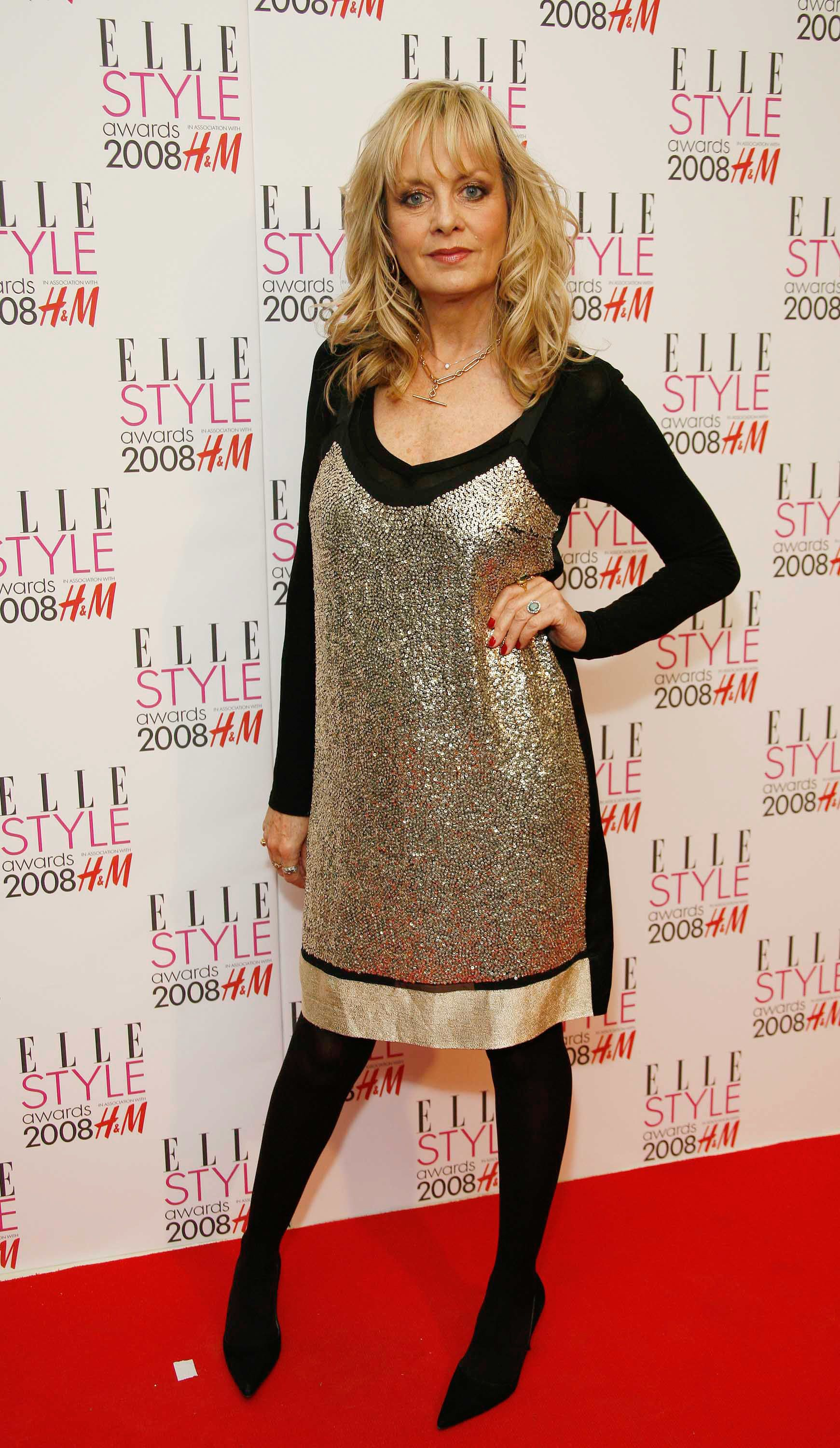 Twiggy arrives at the Elle Style Awards at The Westway in London.