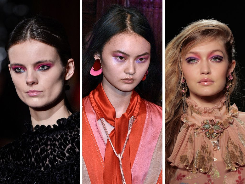 """<a href=""""https://www.huffingtonpost.com/entry/pink-eye-makeup_us_5ab258f9e4b0decad045ccc8"""">Pink eye makeup has been very popu"""