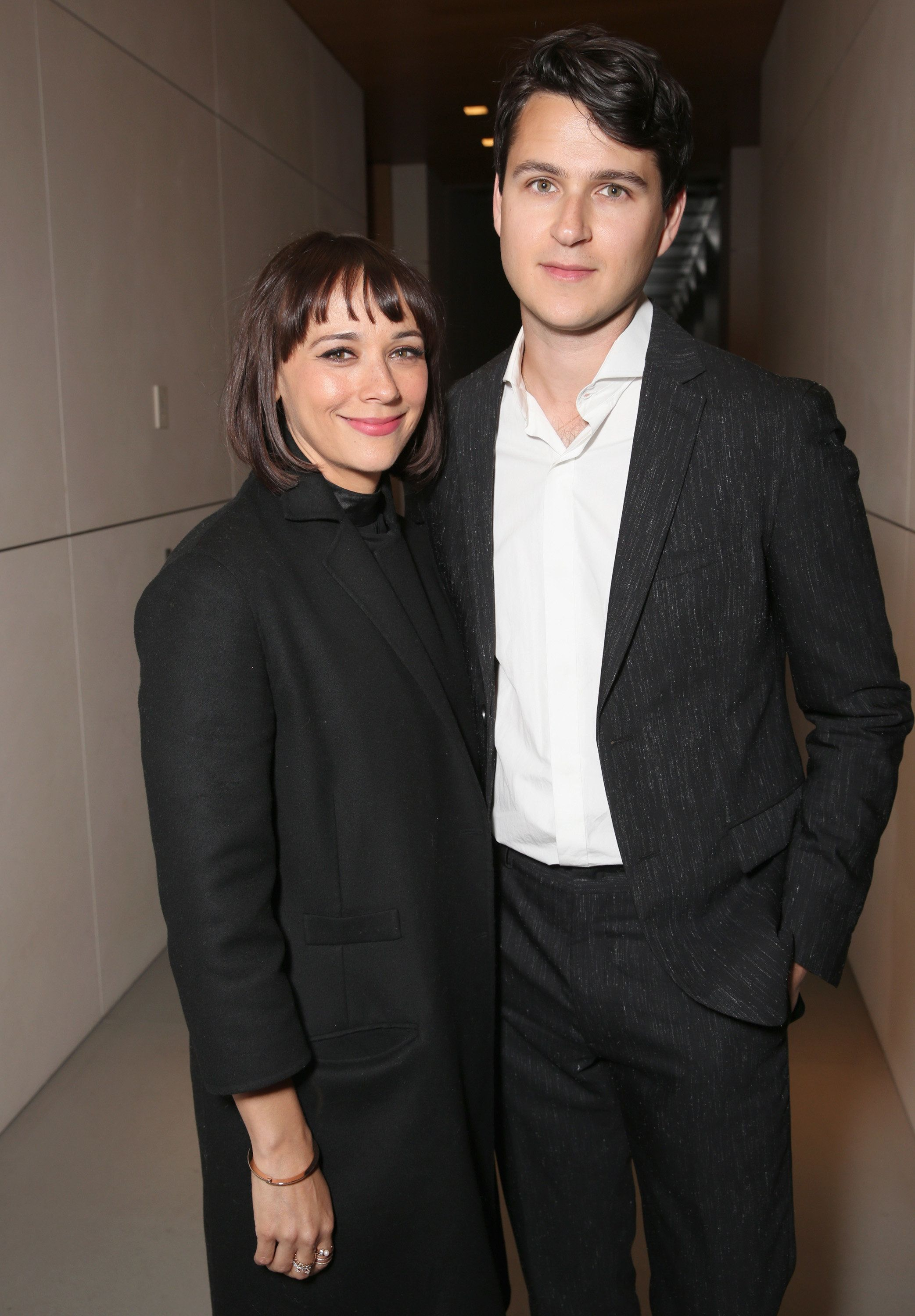 Rashida Jones and musician Ezra Koenig attend an event together in 2016.