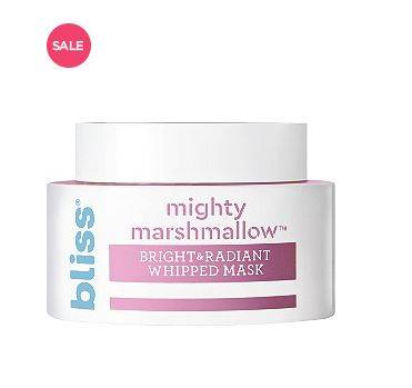 """Normally $15, <a href=""""https://www.ulta.com/mighty-marshmallow-mask?productId=xlsImpprod17921140"""" target=""""_blank"""">on sale for"""