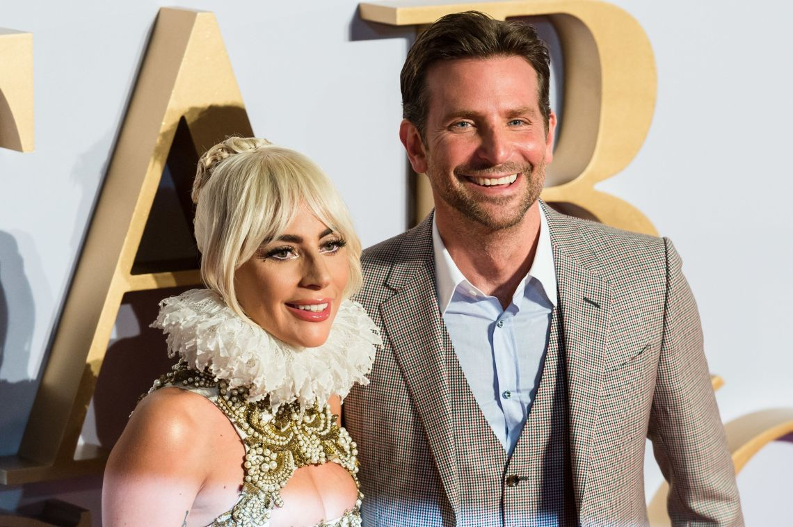 Lady Gaga And Bradley Cooper Soak Up 'A Star Is Born' Buzz At London Premiere