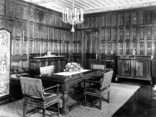 This Is One Of The Rooms Said To Have Originally Been In Old Clark Mansion