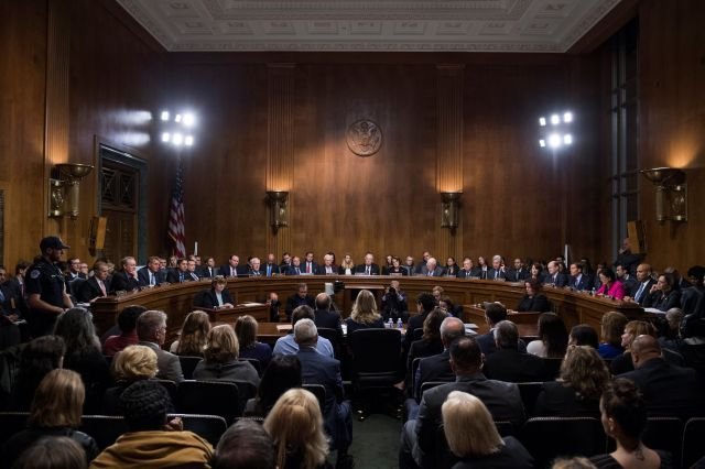 Christine Blasey Ford testified before the Senate Judiciary Committee last week. All the Republican members of that committee
