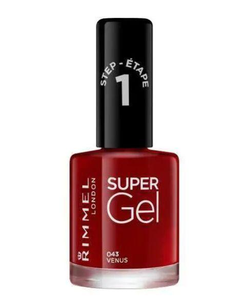 This gel nail varnish will help you kick that expensive fortnightly gel manicure habit. You're welcome.Rimmel Super Gel in Venus, Superdrug, £5.99