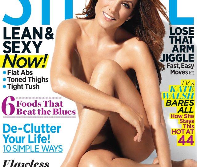 Kate Walsh Poses Nude On Shape Magazine Cover Photo