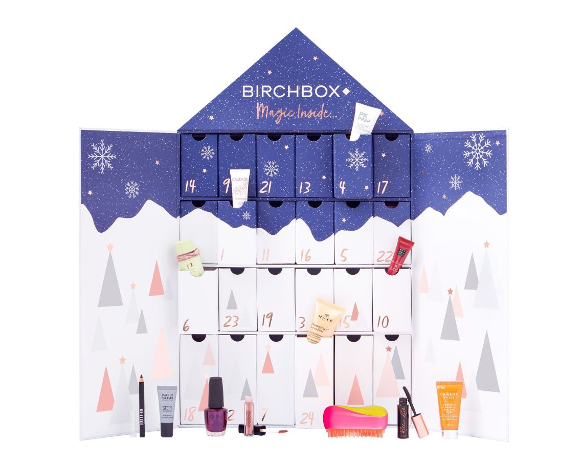 We love Birchbox for introducing us to lesser-known brands with sample products every month as part of its subscription service.Its advent calendar is no exception, but there are some well-known products such as Rituals, Benefit Cosmetics and Tangle Teezer.We also love the design on the box, which would look lovely among Christmas decorations.Birchbox, £65