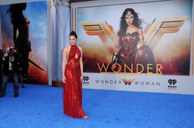 "Gal Gadot, star of ""Wonder Woman."""