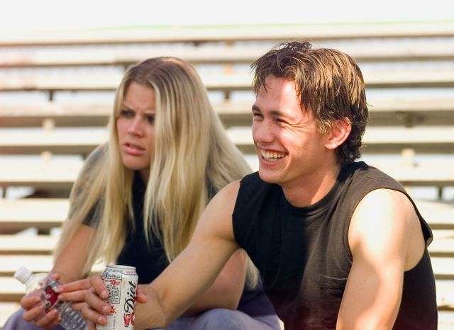 """Busy Philipps and James Franco worked together on the 1990s NBC series """"Freaks And Geeks."""""""