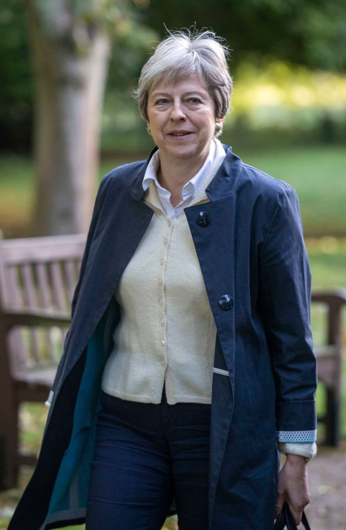 Prime Minister Theresa May has said she wants to return to her pledge to tackle