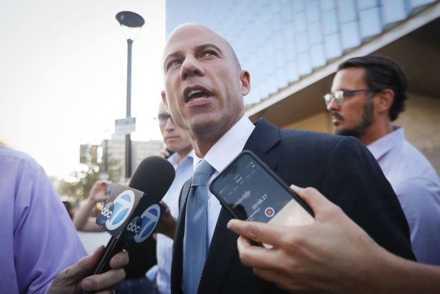 "Michael Avenatti says he's not the only person who could beat Trump in 2020 ""but it is a short list."""
