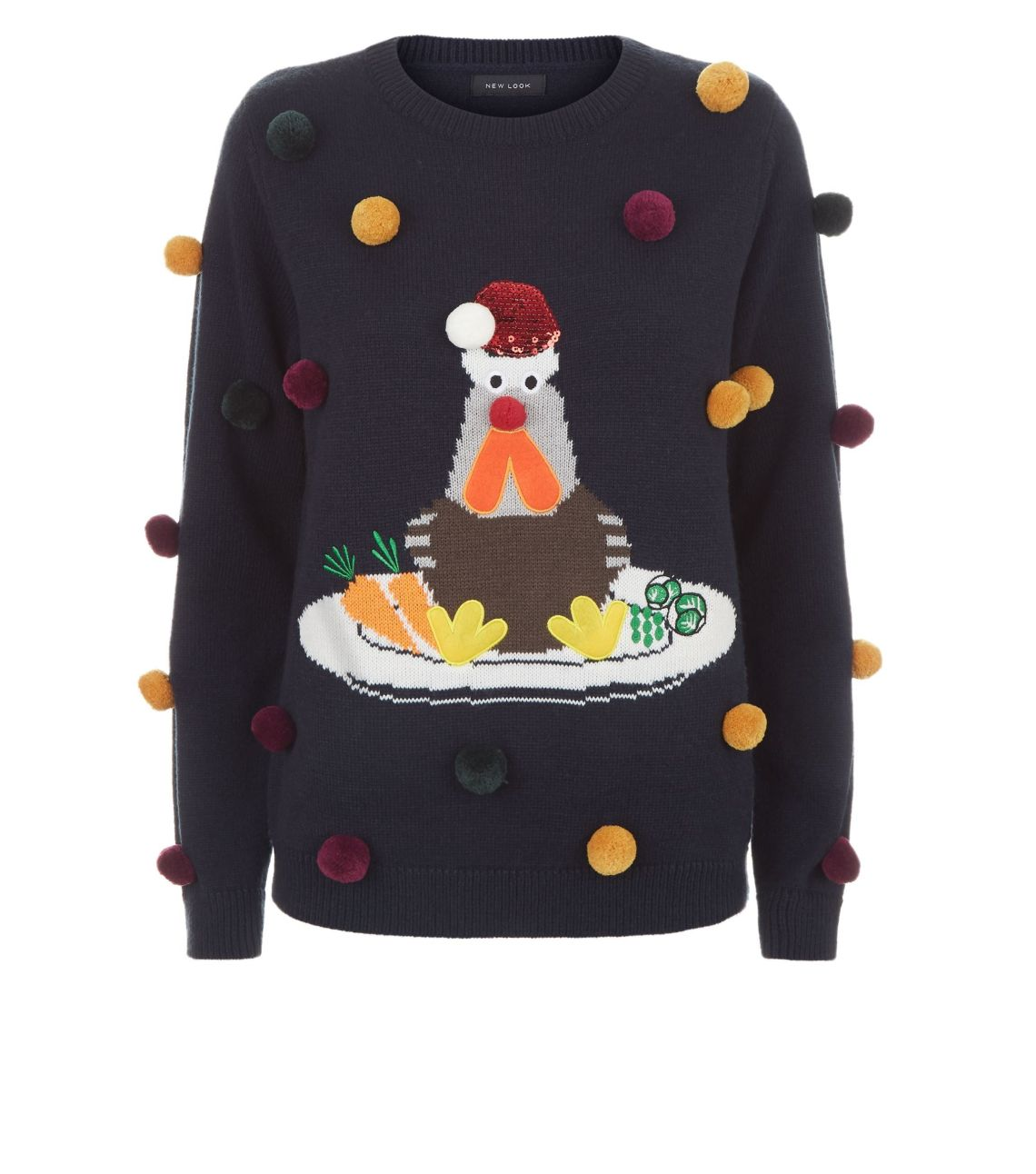 This turkey jumper has won Christmas. Not suitable for vegetarians.New Look, £22.99