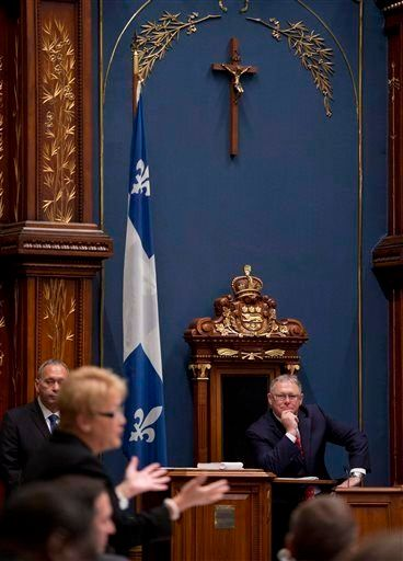 TheCAQ plans to propose barring government employees from wearing religious items such as hijabs, kippas, crucifixes an