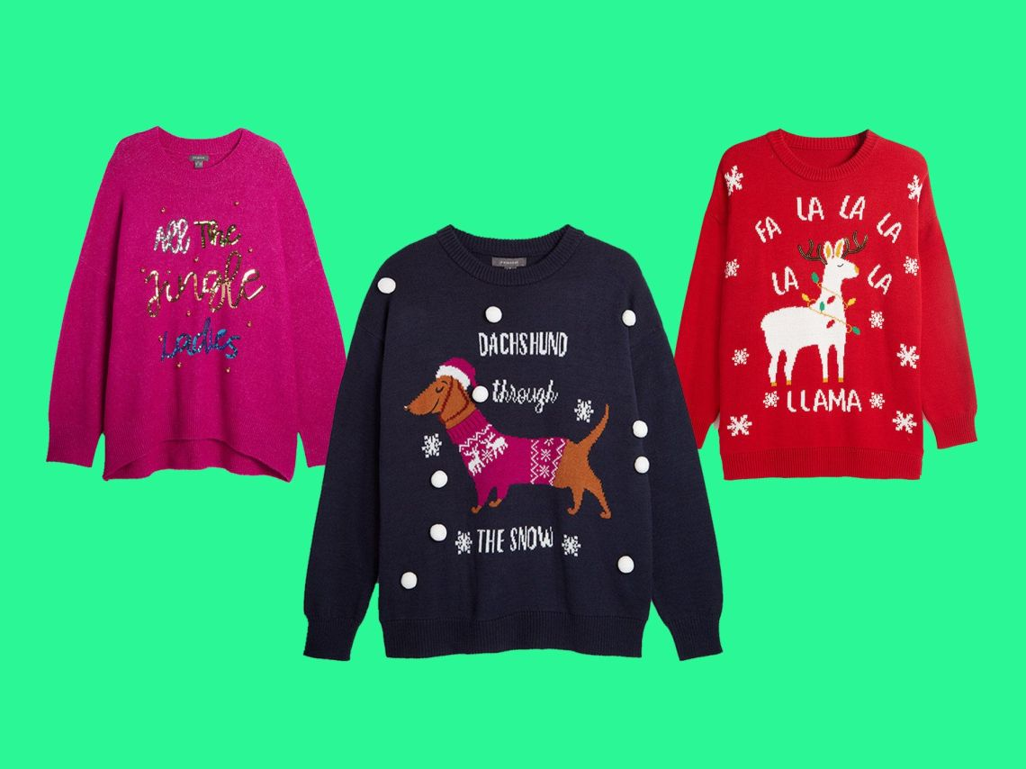 From Puns To Sequins: Here's Our Pick Of Primark's Christmas Jumpers
