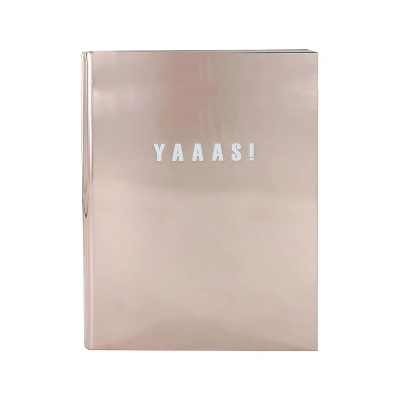 Is there a notepad that will make you more excited for Christmas than this? Probably not. The pad has lined pages with gold edges (so fancy) and is A6 size. Paperchase. £8.