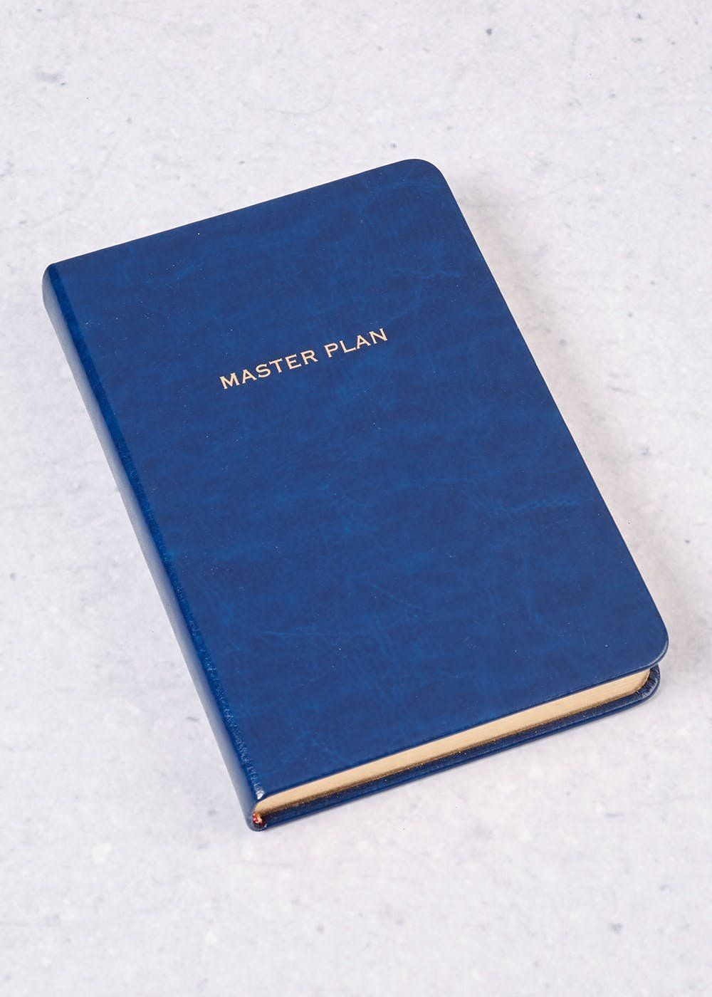 Serious, smart, and simple. Get your plans together in this lined slogan notepad. It's lined, and slightly smaller than A4 at17cm by 12cm.Matalan. £5.
