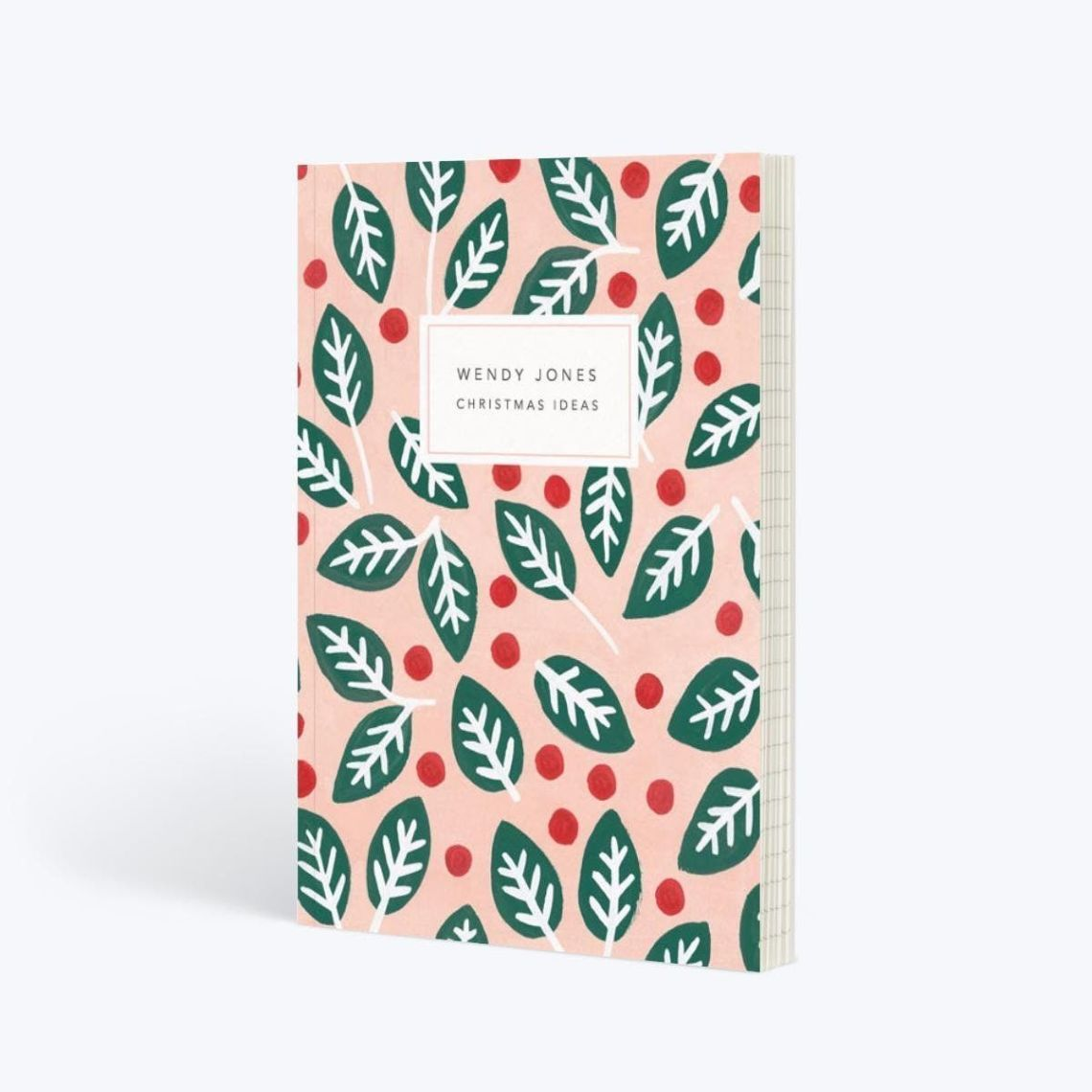 What's a festive notebook gift guide without a festive-themed notebook? Papier have the most beautiful designs, but this A5 lined one is perfect for this time of year. Even better, get it personalised with your name on.Papier. £12.50.