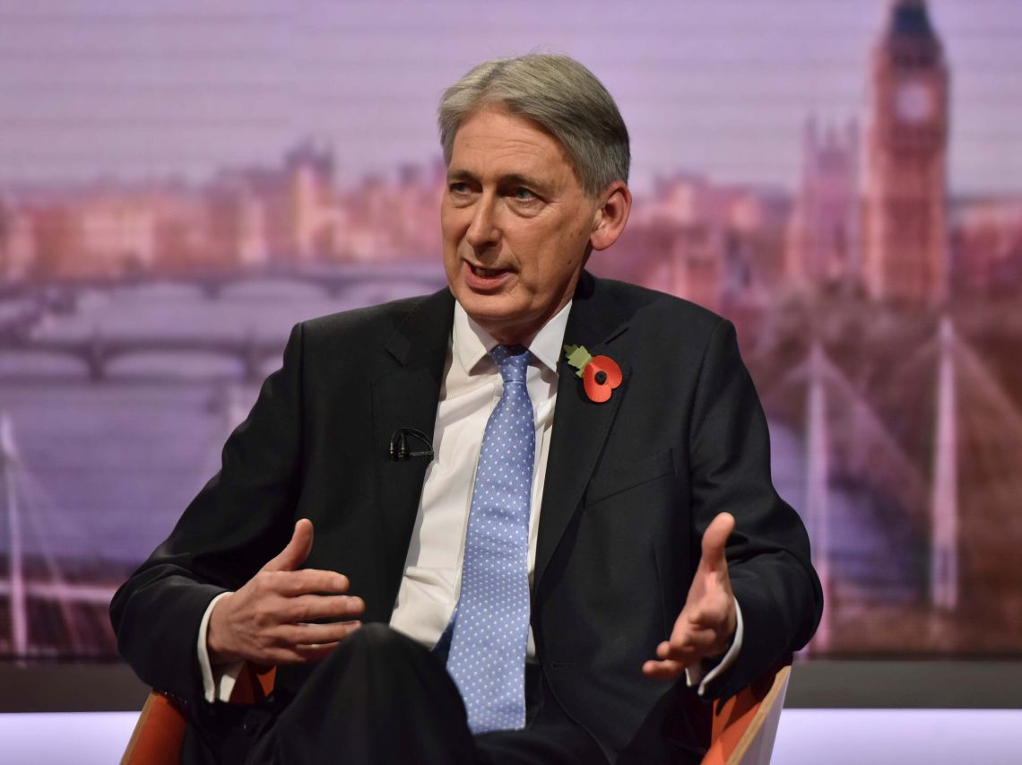 Philip Hammond is due to deliver his autumn budget on Monday