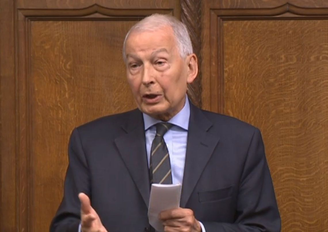 Frank Field said the current benefit sanctions system is so counterproductive it can seem 'pointlessly cruel'