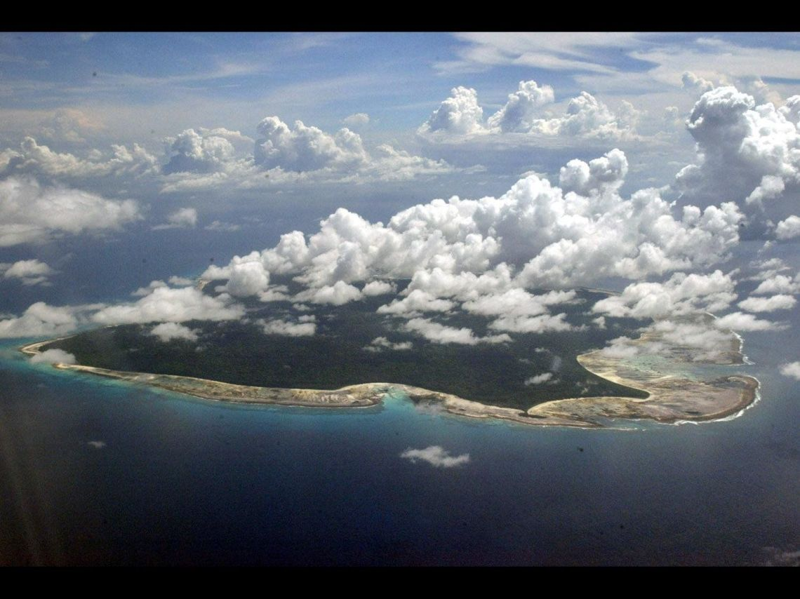 The North Sentinel Island, Andaman and Nicobar Islands